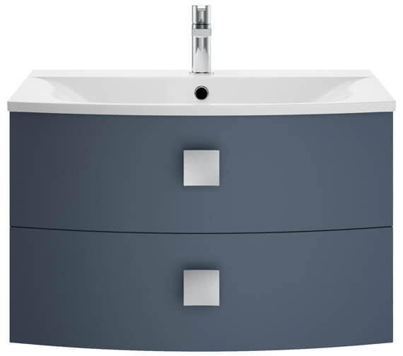 Additional image of Hudson Reed Sarenna 712 x 504mm Two Drawer Wall-Hung Unit And Basin