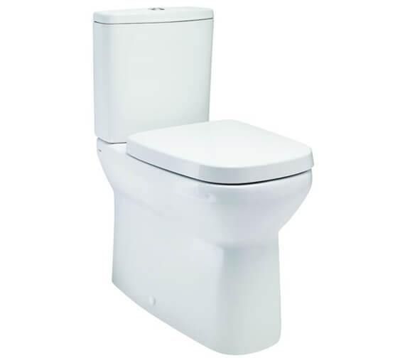 Britton My Home Close Coupled Back To Wall WC Pan With Soft Close Seat And Cistern