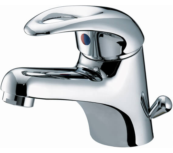 Bristan Java Basin Mixer Tap With Side Action Pop-Up Waste - J BASSW C