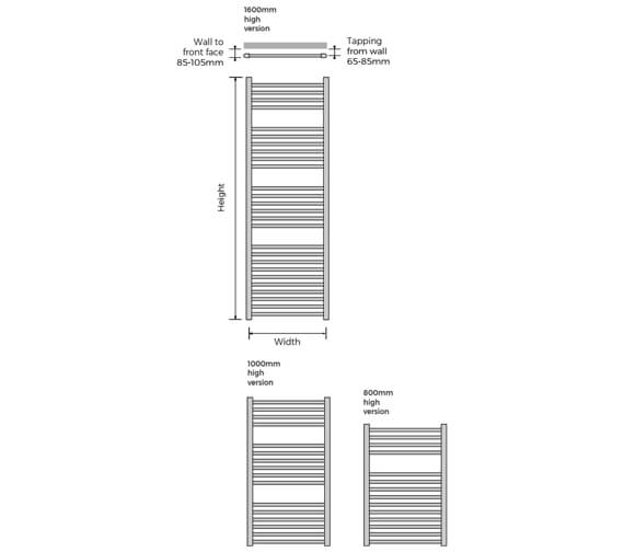 Technical drawing QS-V100320 / NALCH-H-080-40