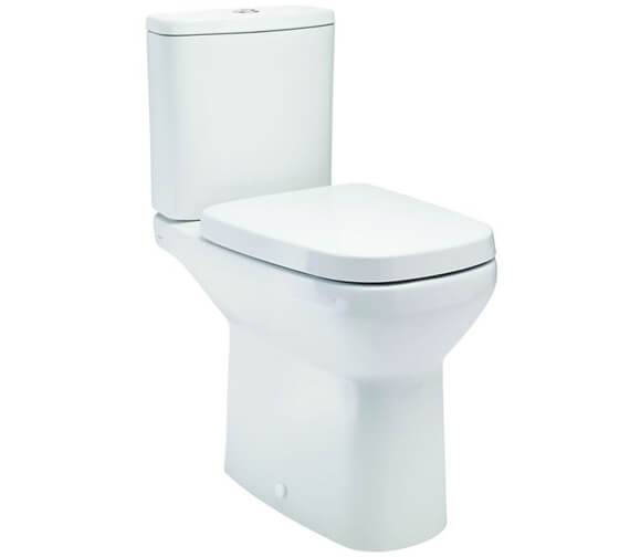 Britton My Home Close Coupled WC Pan With Soft Close Seat And Cistern