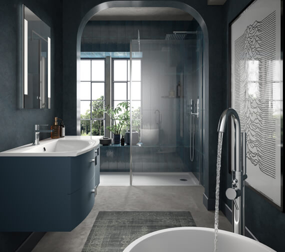 Alternate image of Hudson Reed Sarenna 1006 x 504mm Wall-Hung Cabinet With Worktop Or Basin