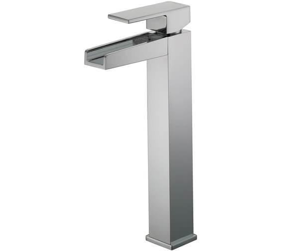 Bristan Hampton Tall Basin Mixer Tap Chrome Without Waste  - HA TBAS C
