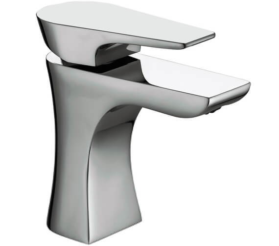 Bristan Hourglass Basin Mixer Tap With Clicker Waste