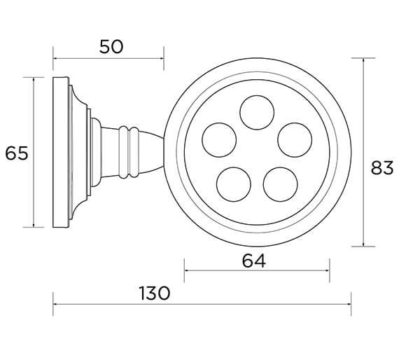 Technical drawing QS-V53371 / ACC02