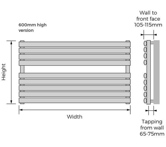 Technical drawing QS-V13954 / FIWWH-48-120
