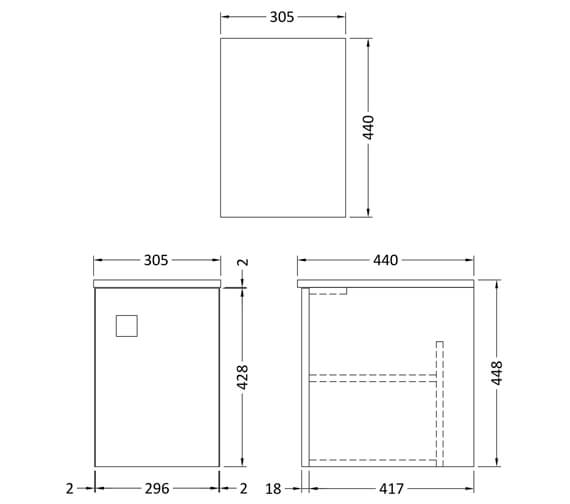 Technical drawing QS-V93897 / SAR160