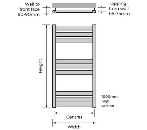 Technical drawing QS-V94043 / HYWH-100-50