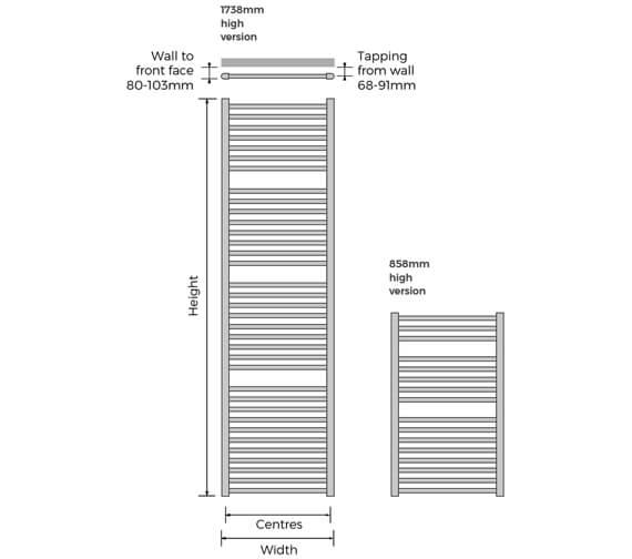 Technical drawing QS-V103331 / BRGR-0860-60