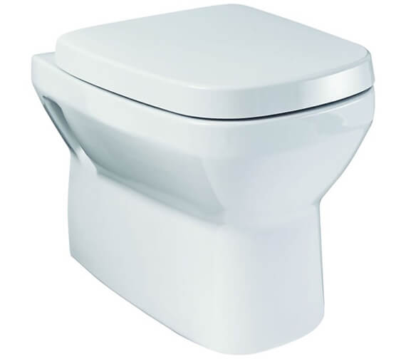 Britton My Home Wall Hung WC Pan With Soft Close Seat