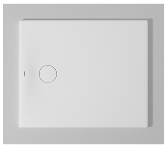 Duravit Tempano Flush Fitted Rectangle Shower Tray With Pre-mounted Sealing Collar