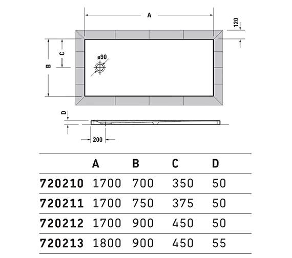 Technical drawing QS-V42570 / 720191000000000