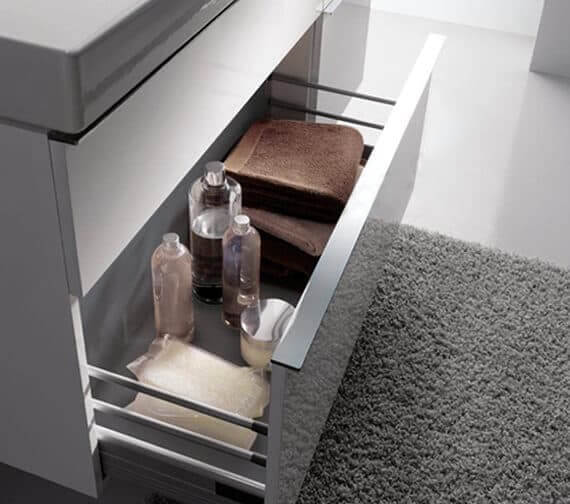 Geberit Icon Double Drawer Vanity Unit