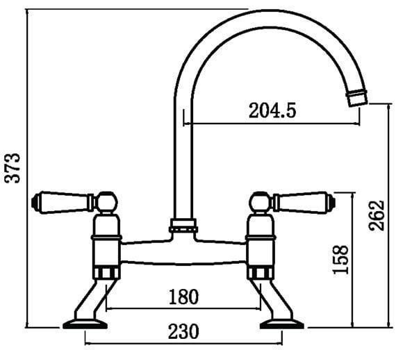 Technical drawing QS-V102426 / DE3CP