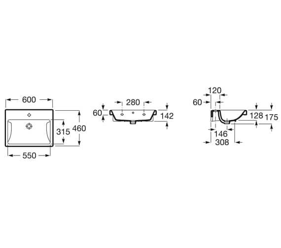Technical drawing QS-V99815 / 3270M1000