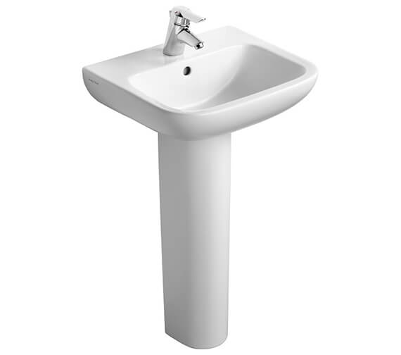 Armitage Shanks Portman 21 Wall Hung Pedestal Washbasin - Contemporary Style