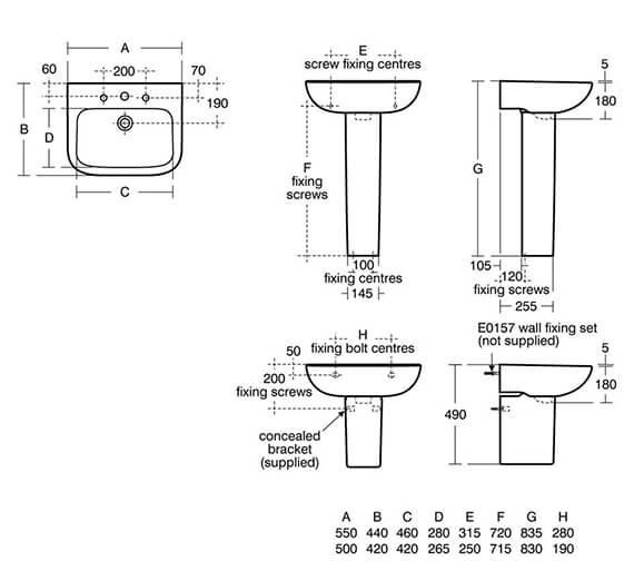 Technical drawing QS-V16181 / S248101