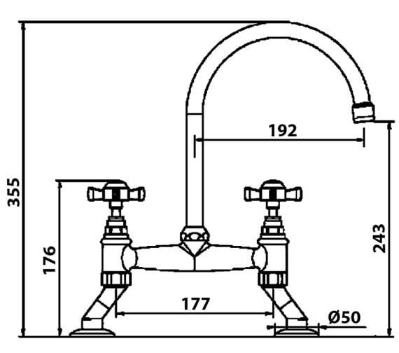Technical drawing QS-V102425 / COTBC
