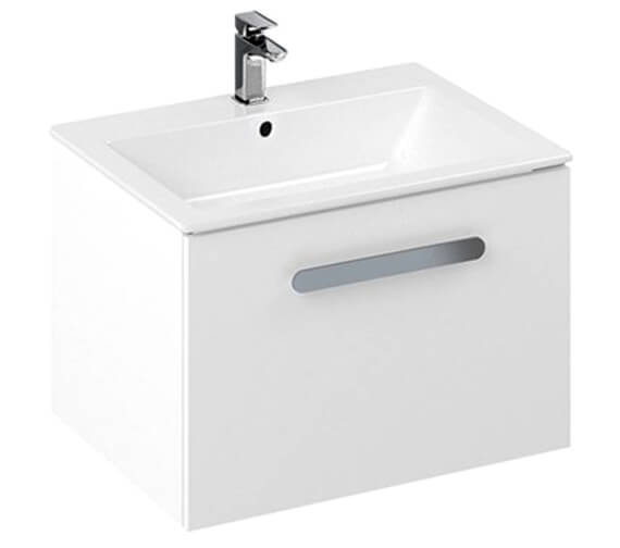 Britton My Home 600mm Wall Hung Unit With Countertop Basin