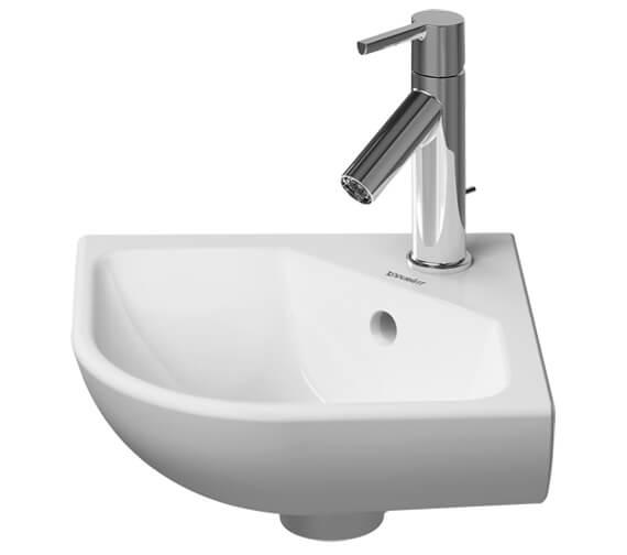 Duravit ME by Starck 435 x 380mm Corner Model Handrinse Basin