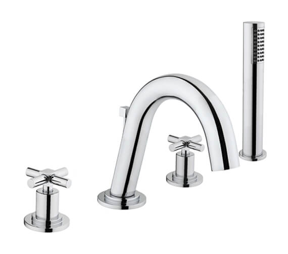 VitrA Uno 4 Hole Deck Mounted Bath Shower Mixer Tap