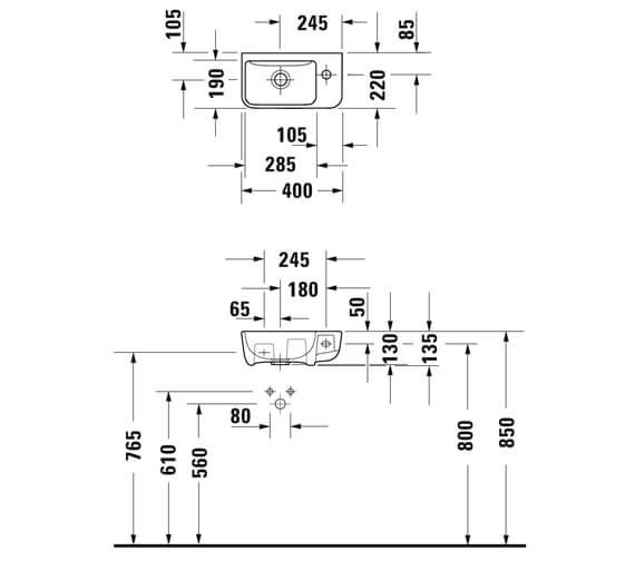 Technical drawing QS-V88885 / 0717400000