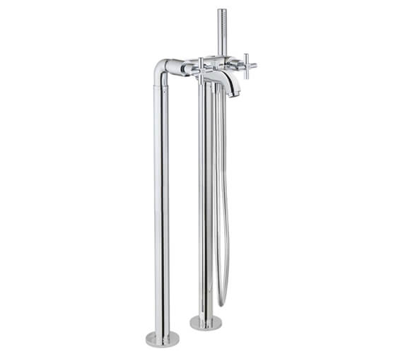 VitrA Uno Floor Standing Bath Shower Mixer Tap With Kit