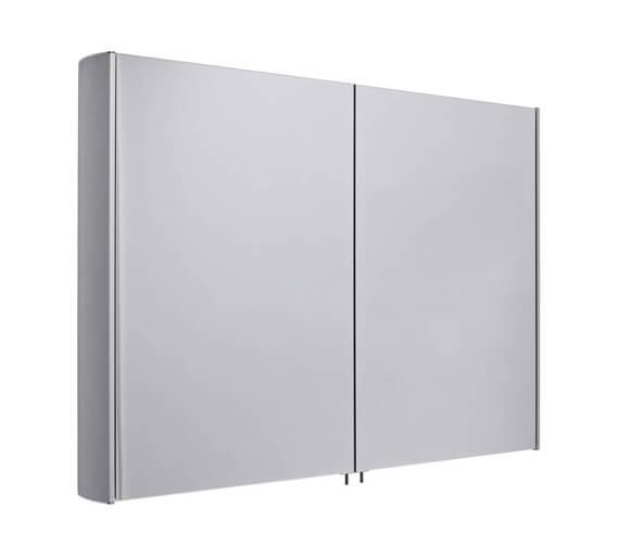 Alternate image of Tavistock Move Large Double Mirror Door Aluminium Cabinet