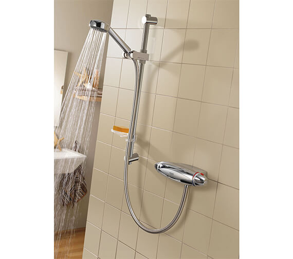 Aqualisa Colt Exposed Thermostatic Shower Mixer Valve With Kit