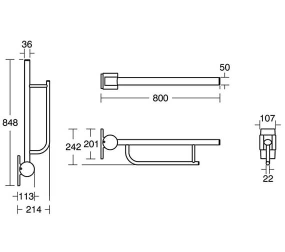 Technical drawing QS-V28934 / S636136