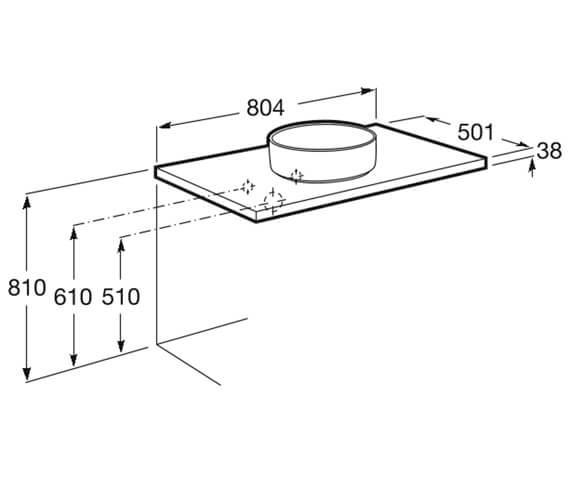 Technical drawing QS-V99820 / 857319806