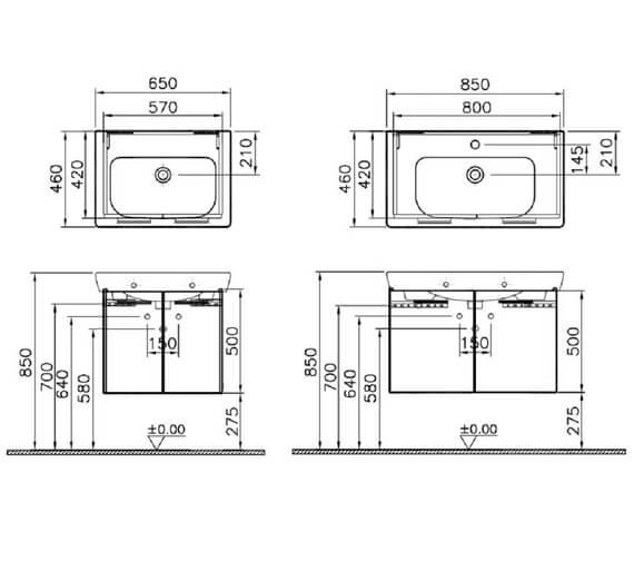 Technical drawing QS-V79465 / 54782