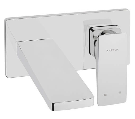 VitrA Brava Wall Mounted Built-In Basin Mixer Tap - Exposed Part