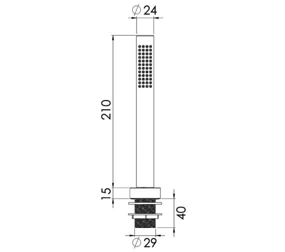 Technical drawing QS-V86344 / CO216