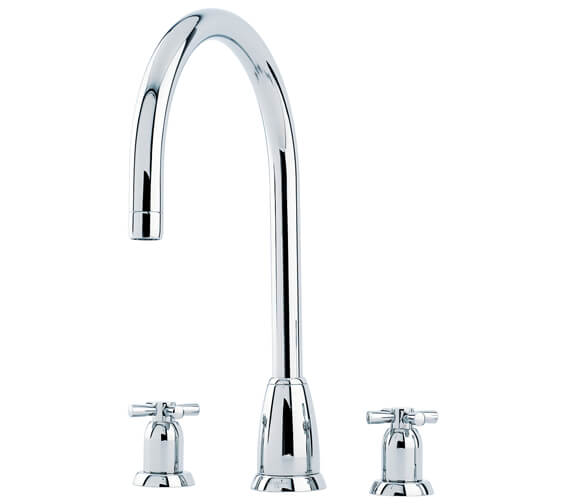 Perrin And Rowe Callisto Kitchen Sink Mixer Tap With C-Spout