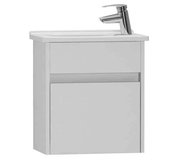 VitrA S50 Compact Wall Hung Vanity Unit And Basin