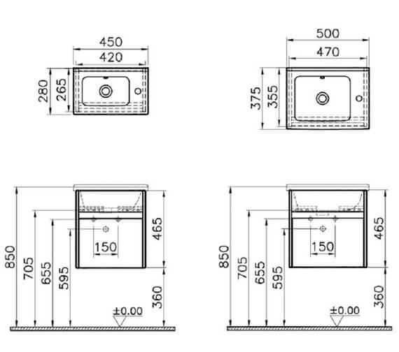 Technical drawing QS-V63131 / 53031