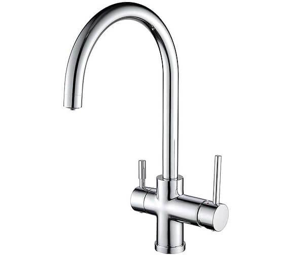 Clearwater Neso C Swivel Spout Kitchen Sink Mixer Tap