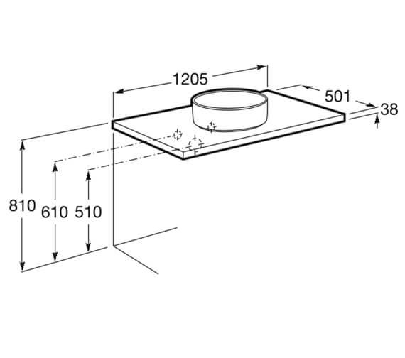 Technical drawing QS-V99822 / 857321806