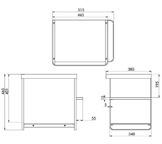 Technical drawing QS-V102298 / VOL050W.MB
