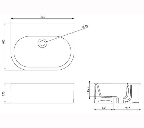 Technical drawing QS-V29669 / 66002.0