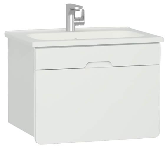 VitrA D-Light Single Drawer Vanity Unit And Washbasin
