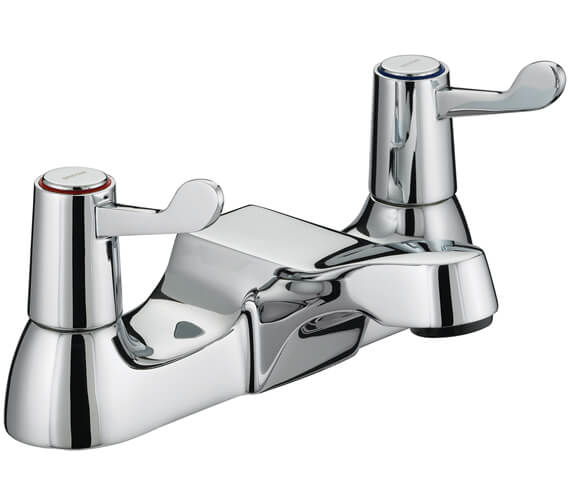 Bristan Lever Bath Filler Tap With 3 Inch Levers - VAL BF C CD