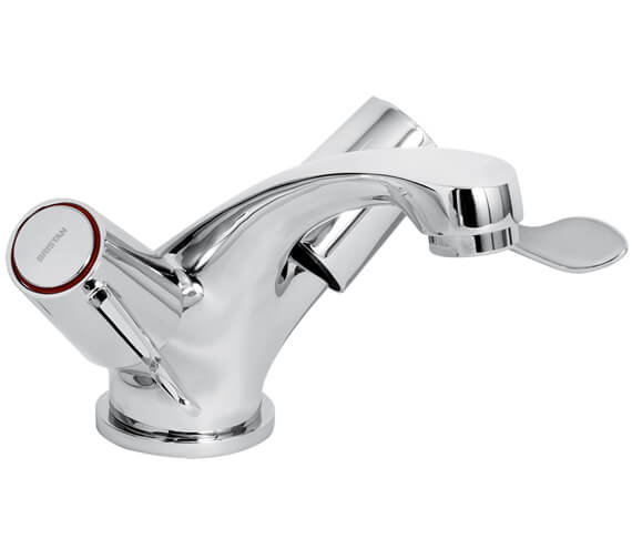 Bristan Lever Mono Basin Mixer Tap With Pop-Up Waste