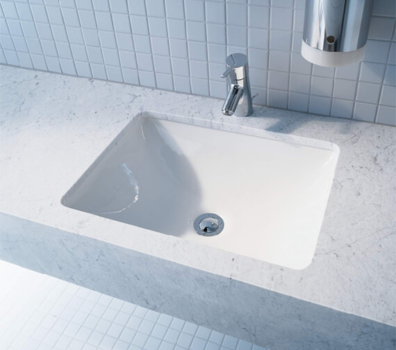 Duravit ME By Starck 530 x 400mm Undercounter Vanity Basin