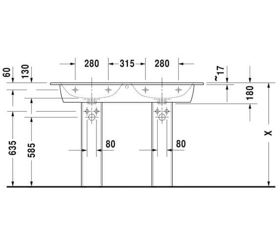 Technical drawing QS-V88428 / 2336130000