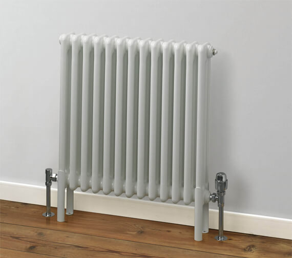 MHS Rads 2 Rails Fitzrovia Horizontal 3 Column - 500mm High Radiator