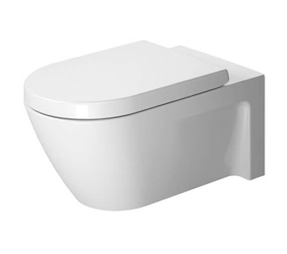 Duravit Starck 2 375 x 620mm Wall Mounted Toilet