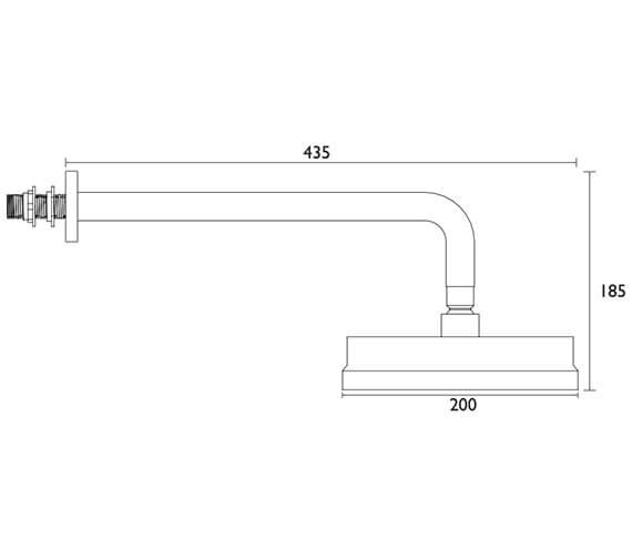 Technical drawing QS-V84163 / STC19