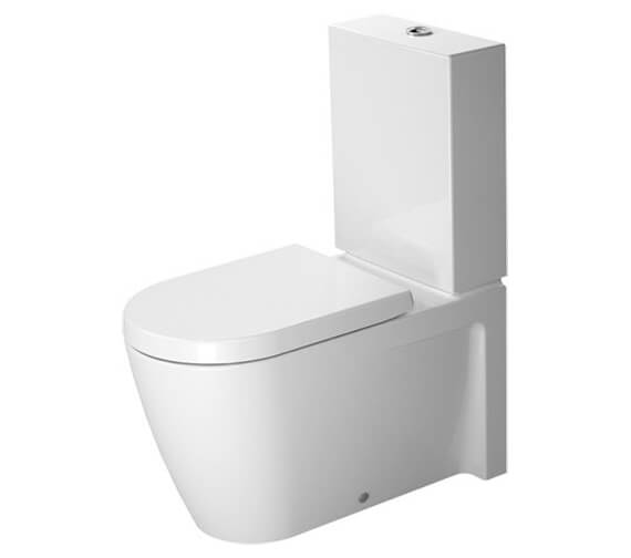 Duravit Starck 2 370 x 725mm Close Coupled Toilet With Cistern